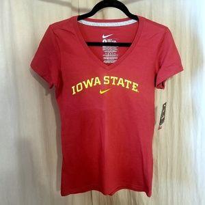 NWT Nike Iowa State vneck